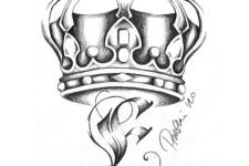 kraliçe tacı dövme modelleri- king crown tattoo